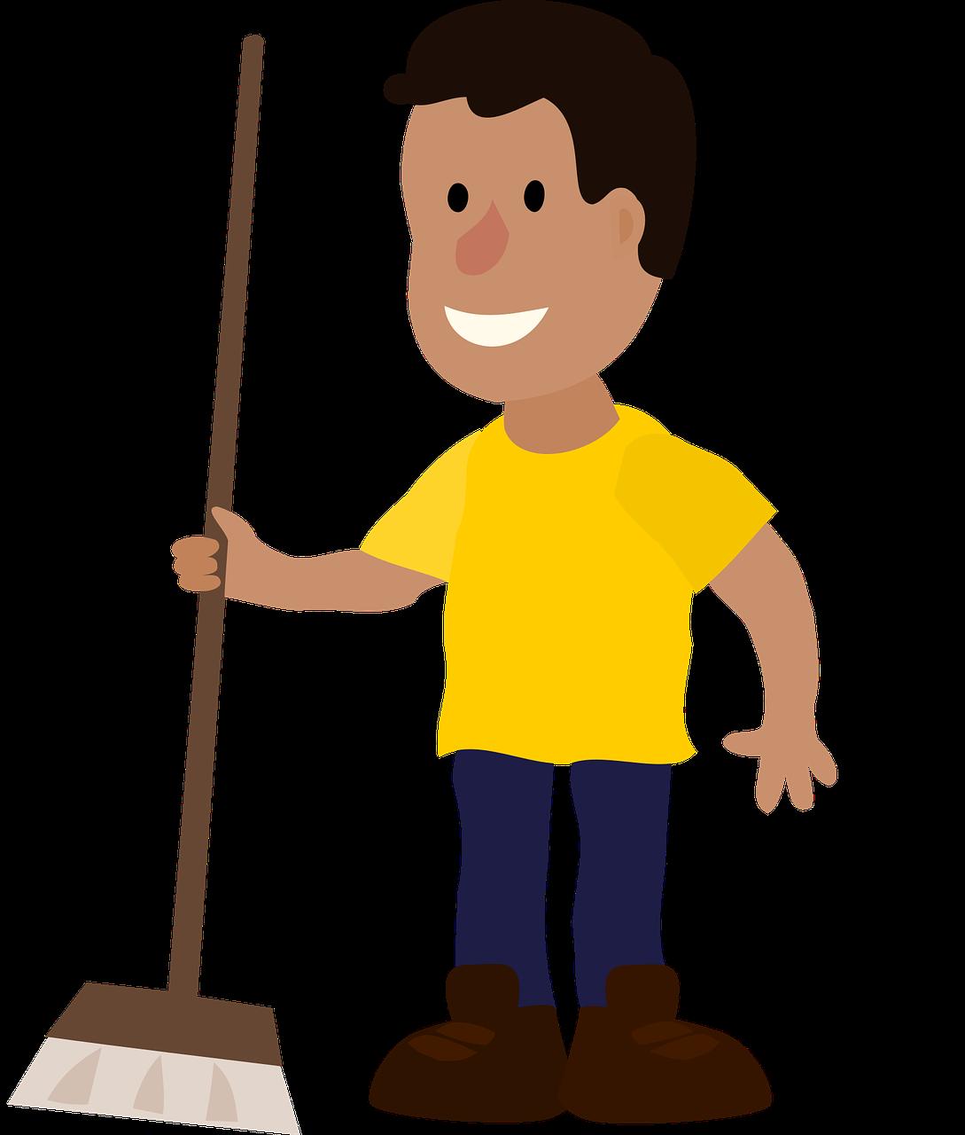 Das leistet das Hausmeister-Service einer Reinigungsfirma (ÖNORM D 2050:2017-01):