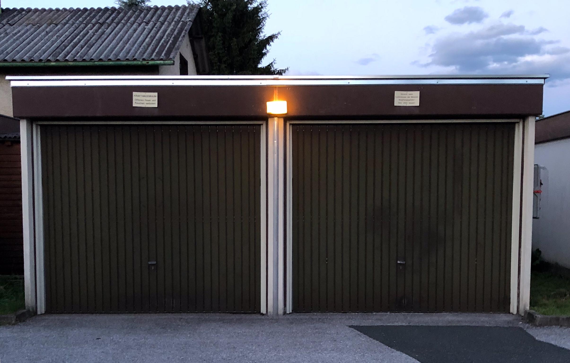 Garagen — Flachdach