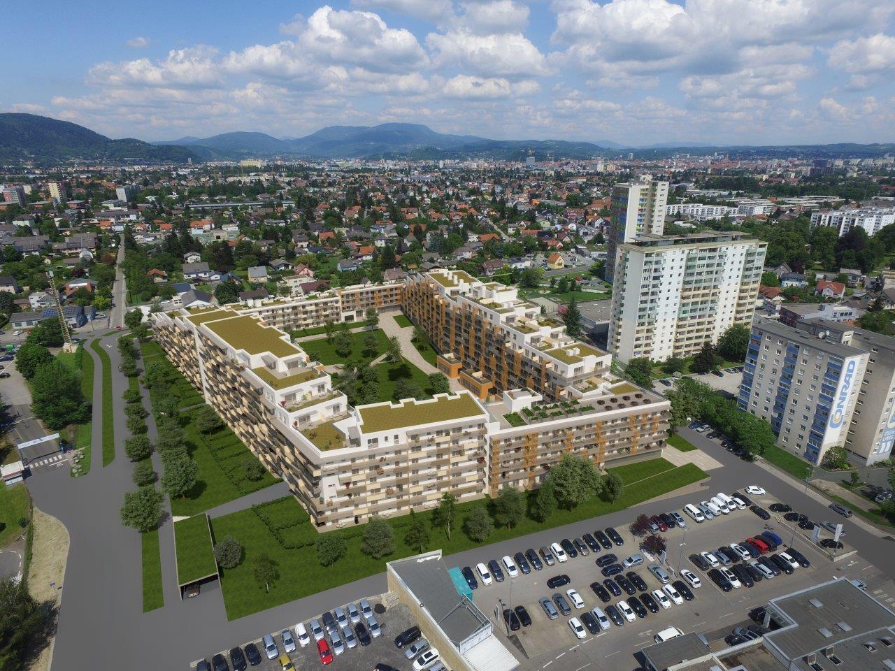 """""""Quartier 4"""" am Grillweg"""