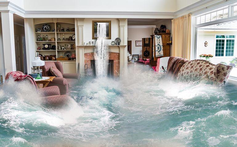Wasserschaden: Was die Versicherung zahlt